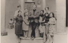Gruppo di partecipanti con il Maestro - Siena 1966